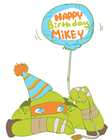 Happy Birthday TMNT by Tenshilove