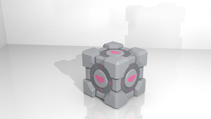Companion Cube by TyDrace
