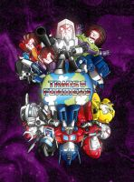 Transformers SD - Decepticons by elfantasmo