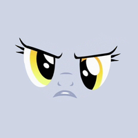 MLP faces: Derpy by Raidho36