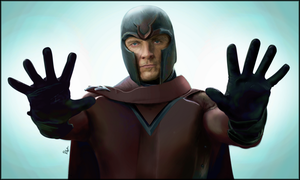 Magneto - X-Men - Michael Fassbender by SuperFFC
