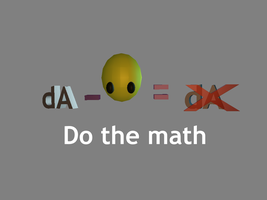 Do the math by MarkKB