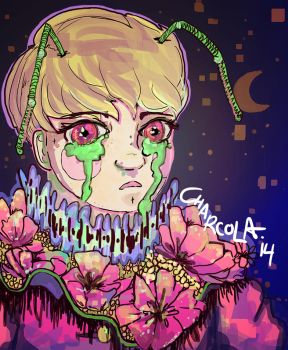 Cosmic Ant Boy by charcola