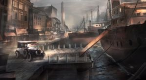 Old Harbour Concept by KM33