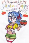 Halloween 2015: Sophie as Giggles by gilster262