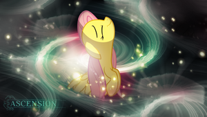 Fluttershy (Ascension) Wallpaper by Chadbeats