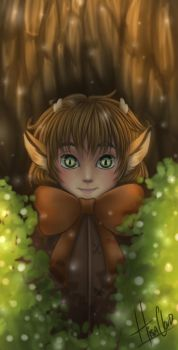 Julien the Little Fawn by Jiacchi