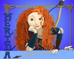 Princess Merida by x12Rapunzelx
