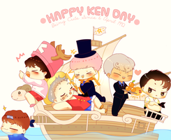 Happy Ken Day by Black-Quose