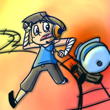 Scout vs. The Payload by Taldigi