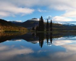 Sparks Lake Sunrise 3 by opticverve