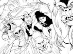 Young Justice by LucianoVecchio
