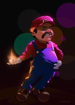 Super Mario by Tarees
