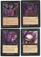 Magic Card Alterations: Dark Rituals by Ondal-the-Fool