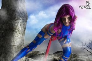 Superheroine weekend part 3 - Psylocke by cosplayerotica