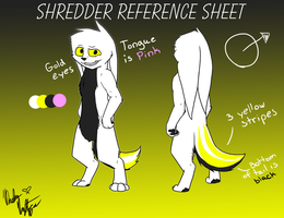 Shredder Reference Sheet by Ice-Artz