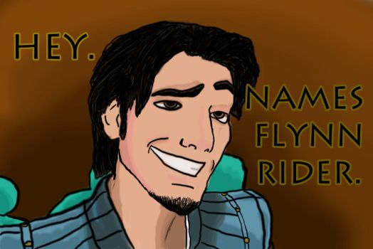 Flynn Rider by thedrbean