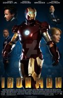 Ironman movie poster 1 by TonyFbaby