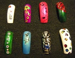 Nail Set 2 by Kelly-Amber