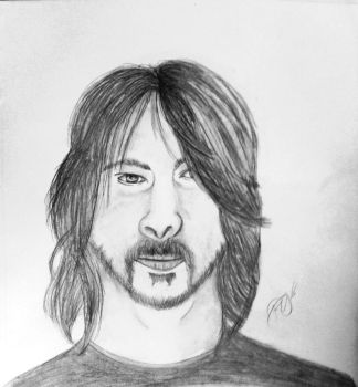 Dave Grohl by RienneCheshire