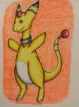 Ampharos by TheDaughterOfLink