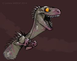 Crazy dinosaur by Dragibuz