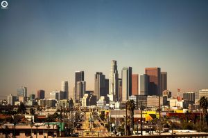 Downtown LA by lambo311