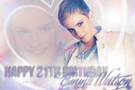 Happy 21st Birthday Emma by Tiinkerbellx3