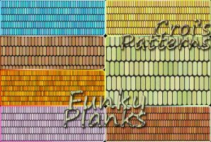 Croi's Funky Planks Pattern pack by croicroga
