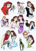 OUAT Rumbelle and Red Cricket by Ondyne