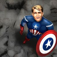 Captain America by 365degrees