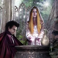 The Mirror of Galadriel by vampirekingdom