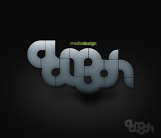 AdeohMedia Logo by messinmotion