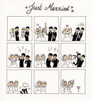 Just married by CoyNino