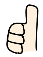 Walfas Thumbs up by Spaztique