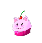 Cup Cake Kitty by Heart0fInk