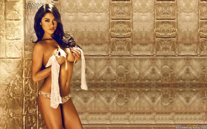 BWORLD#285: ARIANNY CELESTE: TOPLESS IN PYRAMID #2 by CSuk-1T
