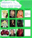 Voice Actor Meme - Male Edition by Groovy-Gecko
