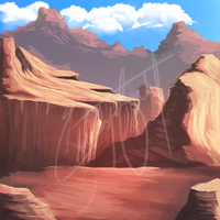 Canyons by PlumiiraCreature