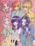 Humanized My Little Pony by Emirichu