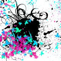 Splatter and Grunge by AshDayArt