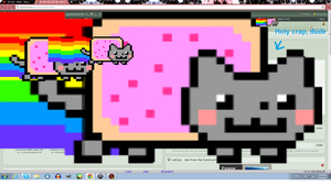Nyan invaded me ouo by GothicLace