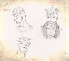 Marco. Sketches by TaiyoHisakawa