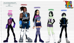 Teen Titans Next Gen by shock777