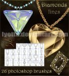 brushesPs diamond line lyotta by Lyotta