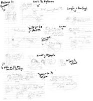 Art History Note Doodles by Kaede-chama