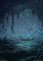 Dwarves Exploring The Black Sea by SpiralMagus