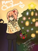 MERRY CHRISTMAS FROM AMU HINAMORI by HACKproductions
