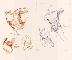 Copies from Michelangelo by SILENTJUSTICE