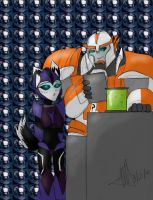 Request - Midnight and Ratchet by MNS-Prime-21